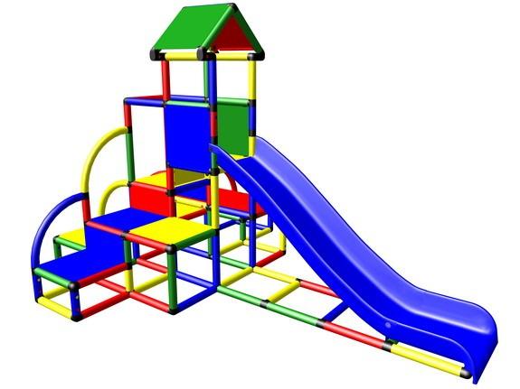 MoveAndStic M3014 Spielturm rauf und runter mit Rutsche