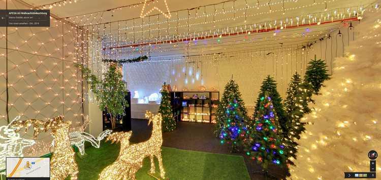 Hochwertige Weihnachtsbeleuchtung.Virtuell Durch Die Apesa Ausstellung Surfen Und Das In 3d Ansehen