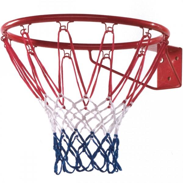 Basketballring mit Netz zur Montage an Spielgeräten oder Mauern