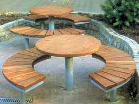 Garten-Sitzbank Picknick