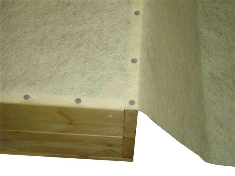 Dachpappennägel zur Montage Vlies für Sandkasten