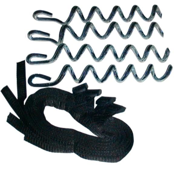 Bodenverankerung für alle Trampoline Set mit 4 Anker