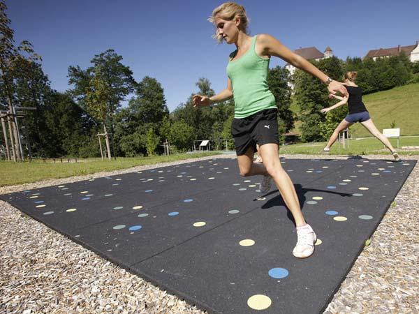 Fitnessgeräte fördern Koordination, Kraft und Ausdauer