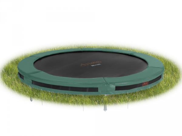 Bodentrampolin InGround Ø 427 cm mit InTerra-Anker