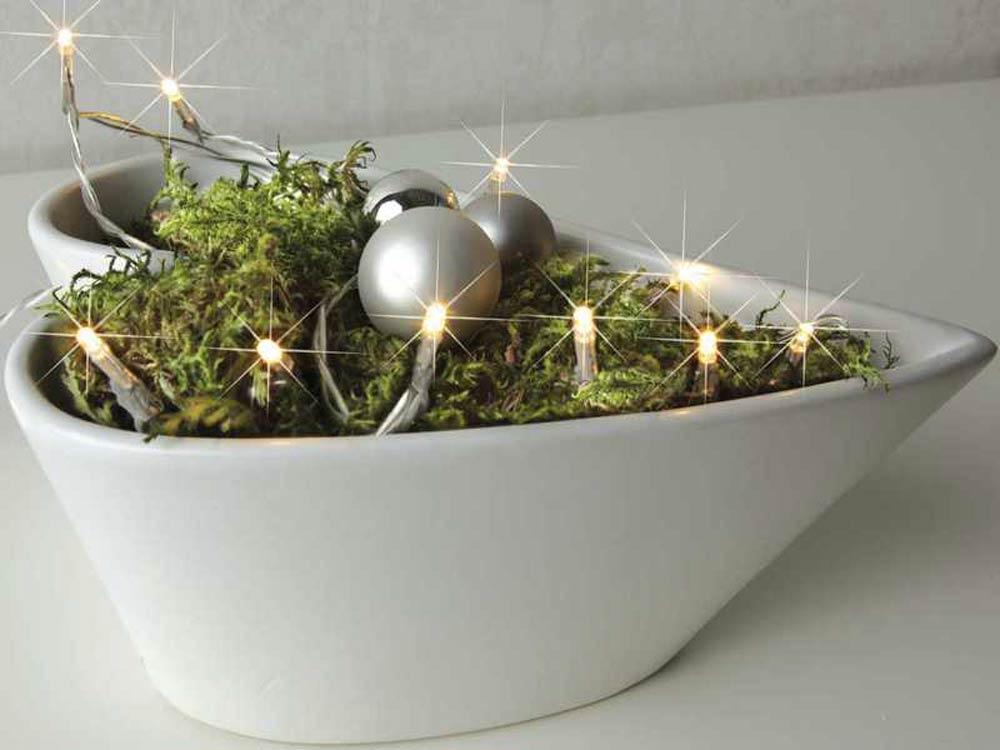 Lichterketten Mini, 230V, sind dekorative Lichter für drinnen