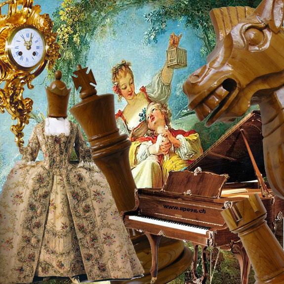 Die Geschichte des Schachs und der Schachfiguren