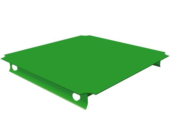 MoveAndStic Platte, 40 x 40 cm, grün