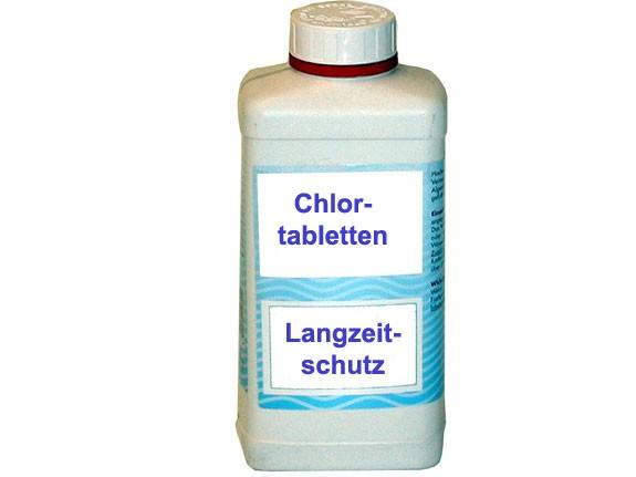 Chlor Langzeittabletten 1Kg