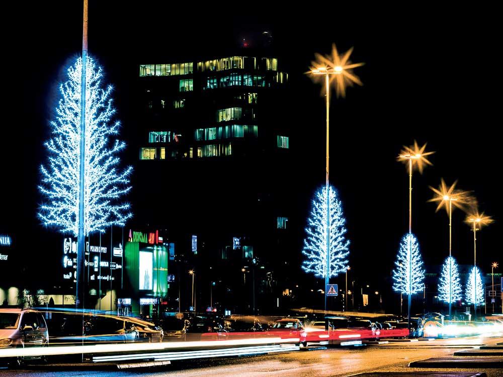dekorative Beleuchtung für Kandelaberlichter