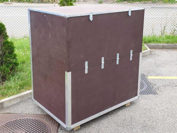 Holzkiste aus Siebdruckplatten für Schach mit Königshöhe 64 cm