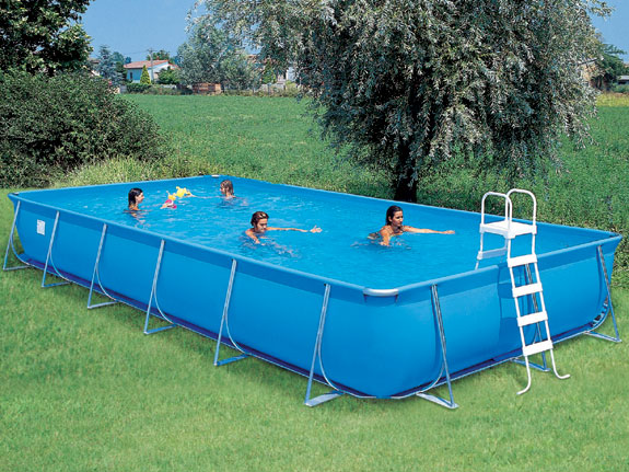 Emotion pool hyper splash l650 b390 h125cm inkl for Badepools garten