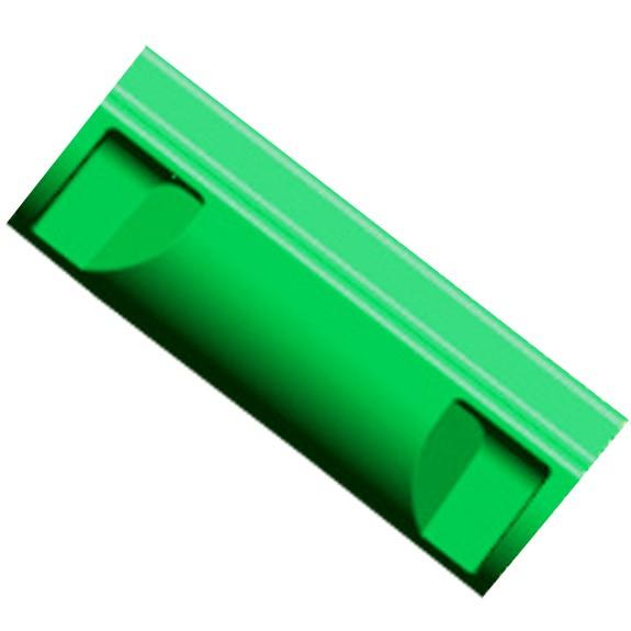 AGI Rutsche, breit, Element gerade kurz, 80 cm