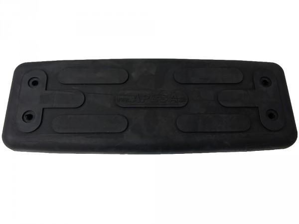 Sicherheits-Schaukelsitz Standard, schwarz, ohne Bügel ohne Seile