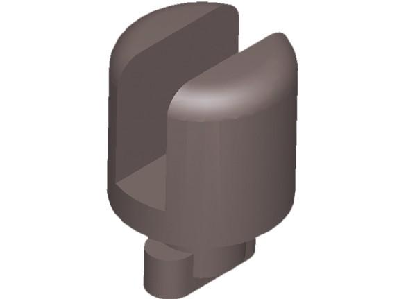 MoveAndStic Sicherungen für Plexiglas-Platten 6 mm, schwarz