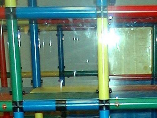MoveAndStic Platte aus Plexiglas 35 x 35 x 0.6 cm