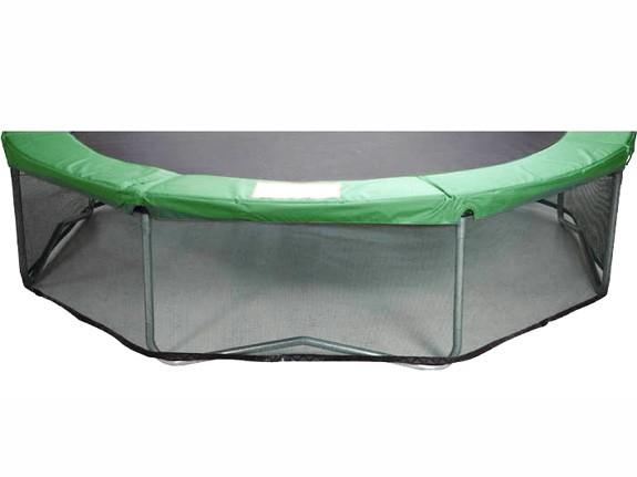 Schutznetz rundherum unter dem Trampolin mit Ø 244 cm