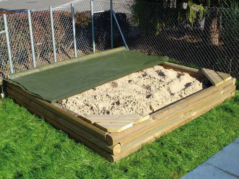 APESA Konzept für Profi-Sandkastenabdeckung nach Ihren Wünschen