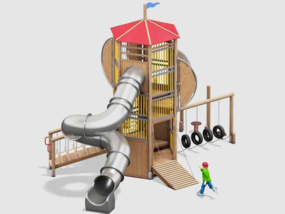 Kinderspielgeräte für öffentliche Spielplätze Norm EN 1176