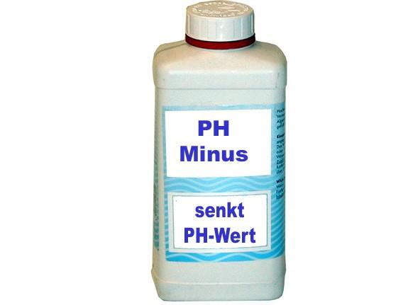 PH-Minus. Reduziert den PH-Wert