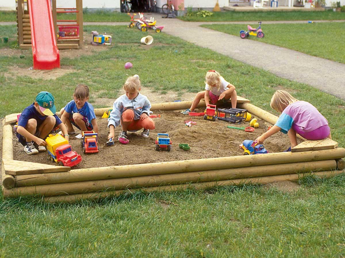 Hochwertige Sandkästen - der Preis