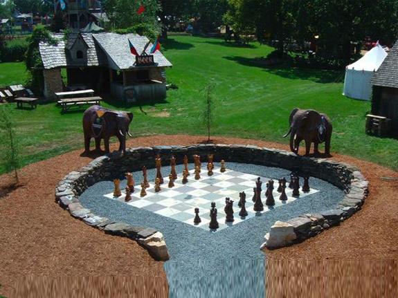 Schachfelder bieten Potential für Gartenarchitekten