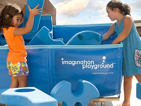 Imagination Playground 50 Teile, Verpackung 2 Karton