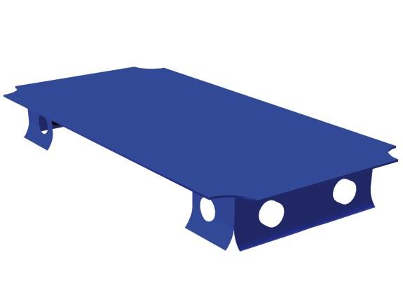 MoveAndStic Platte, 20 x 40 cm, blau