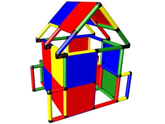 MoveAndStic M3002 Spielhaus mit Dach