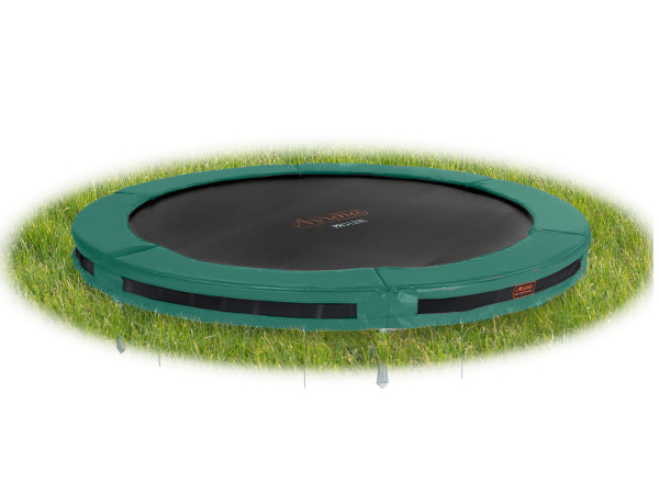 Bodentrampolin InGround Ø 366 cm mit InTerra-Anker