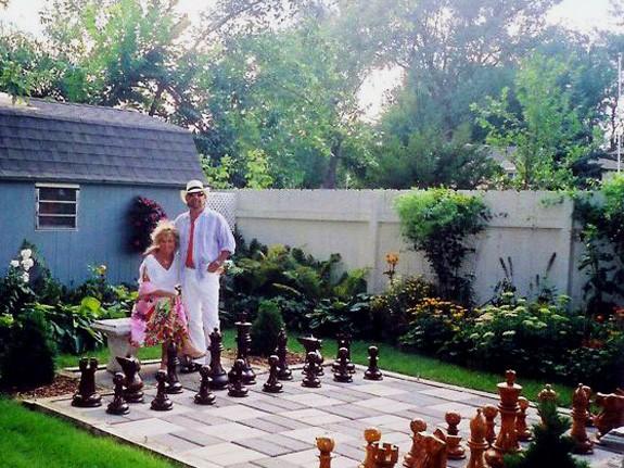 Giant Chess, Riesenschach-Set Königshöhe 60 cm