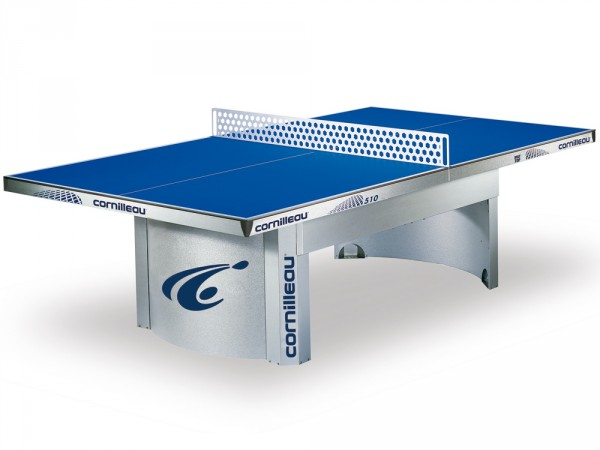 Tischtennis-Tisch Outdoor Super Champion blau