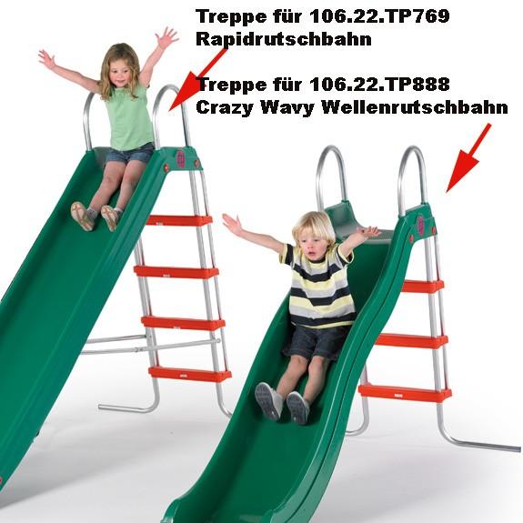 Treppe für Crazy-Rutsche 243 cm