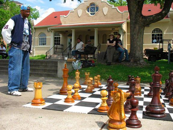 Giant-Chess ist Schach für Gewinner