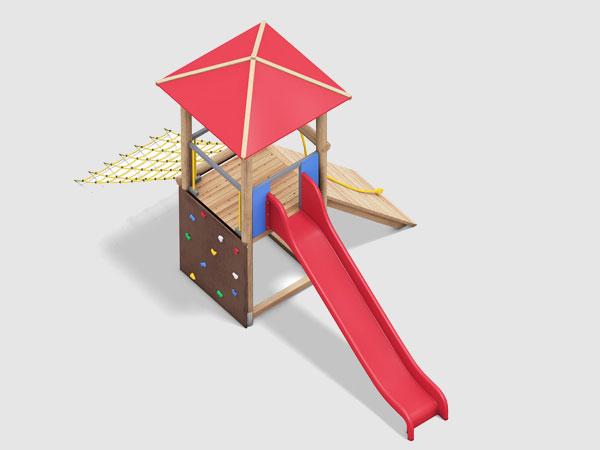 Spieltürme für den Kinderspielplatz