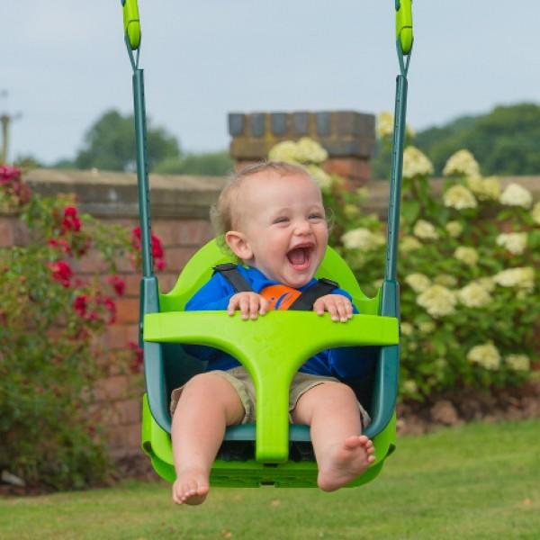 QuadPod Baby-Schaukelsitz 4 in 1, 6 Monate bis 8 Jahre