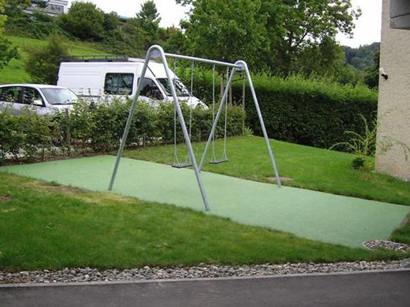 Spielturm douglasrex mit rutsche 244 cm spielger te for Badepools garten