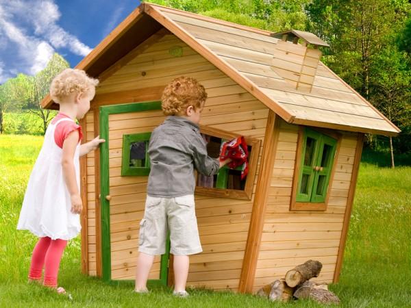 Holz-Spielhaus Alice von Axi