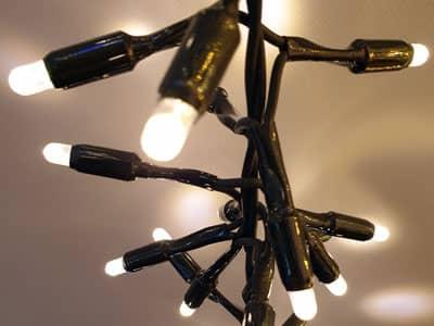 Büschellichertkette, Clusterlights ausbaubar Profimaterial 1A