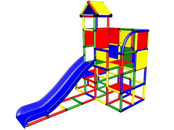 MoveAndStic M3020 Spielturm mit Anbaurutsche