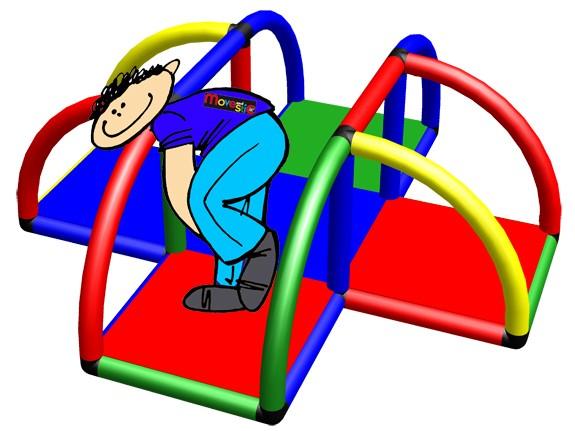 MoveAndStic für behinderte Menschen. Design MSNS05