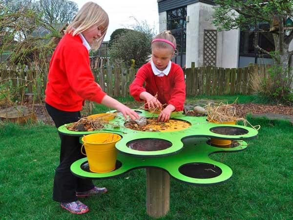 Experimentieren mit Pflanzen und Musik macht Kindern Freude