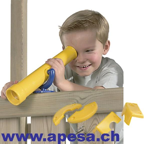 Spielfernrohr, Teleskop für Spieltürme