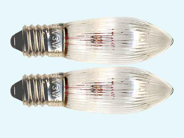 Birnen E-20 Ersatzbirnen für Weihnachtsbeleuchtung