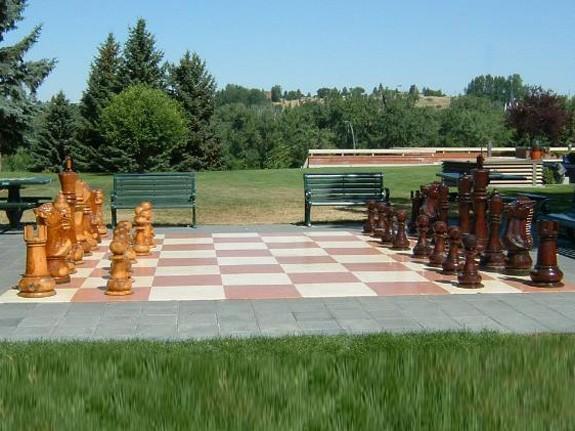 Giant Chess, Riesenschach-Set Königshöhe 120 cm