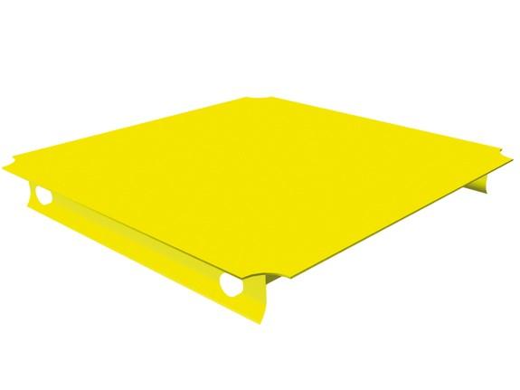 MoveAndStic Platte, 40 x 40 cm, gelb