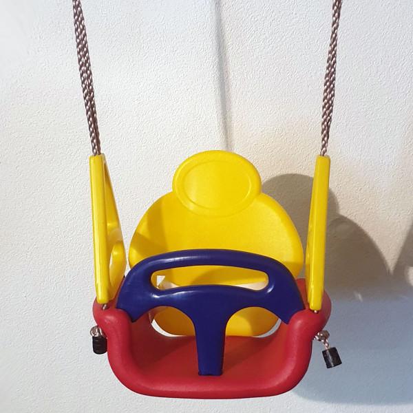 Baby-Schaukelsitz für 3 Altersstufen in einem Sitz