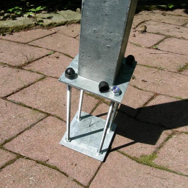 Bondenanker verstellbar für Ping Pong Tisch Top Spin Round Corner