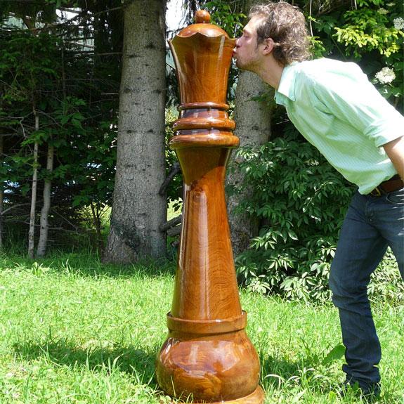 Schachfiguren der besondern Art. Eben weil Sie es sich wert sind