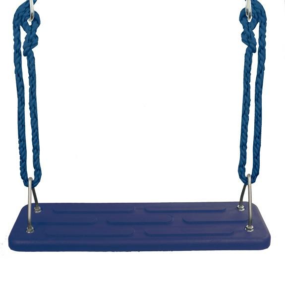Sicherheits-Schaukelsitz Standard, blau, Seile blau