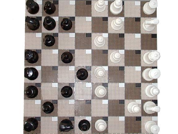 Garten-Schach Spielfiguren klein
